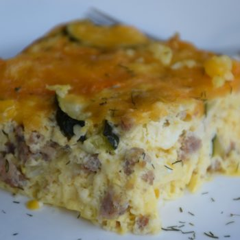 Zucchini Egg Casserole