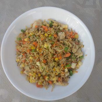 Chicken and Veggie Fried Rice