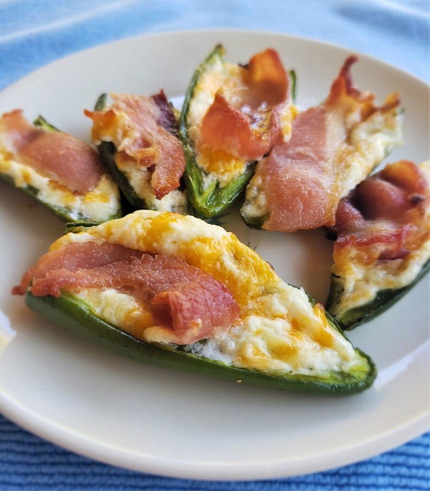 Bacon Jalapeño Poppers