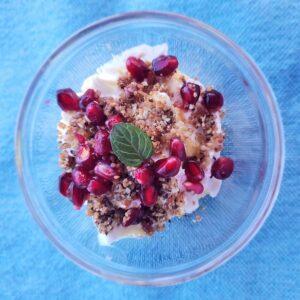 Pomegranate Yogurt Parfait