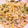 Cauliflower Rice with Corn and Green Chile